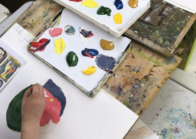 Acrylic Painting Workshop with Lorna MacKay, Sat 26 Mar 2022, 10-4pm, £98