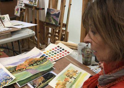Watercolour Workshop, colour of nature with Frances Douglas, Sat 24 Sept 2022, 10-4pm, £98