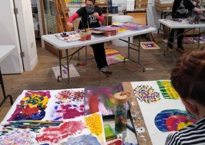Mixed Media Workshop with Sally Morrison, Sat 26 Feb 2022, 10-4pm, £98