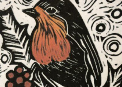 Mono and lino printing, Christmas themed with Sally Morrison, Sat 27 Nov, 10-4pm, £95