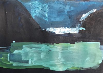 Acrylic Workshop – Abstracting the landscape with Lorna MacKay, Sat 14 May 2022, 10-4pm, £98