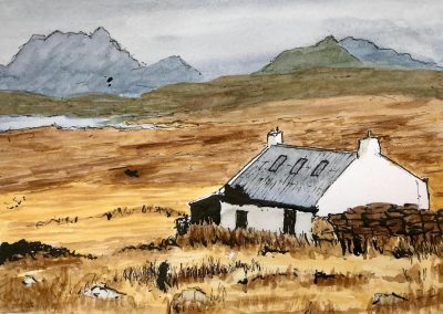 Watercolour Workshop, Sketching in pen, ink and watercolour with Frances Douglas, Sat 26 Nov 2022, 10-4pm, £98