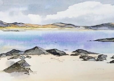 Sketching in pen, ink and watercolour with Frances Douglas, Sat 21 May 2022, 10-4pm, £98