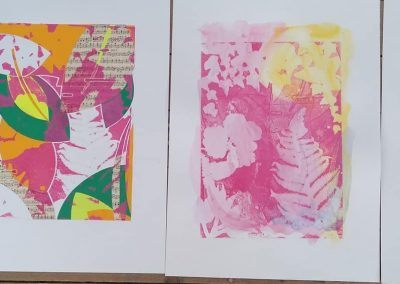 Mono printing Workshop with Sally Morrison, Sat 7 May 2022, 10-4pm, £98
